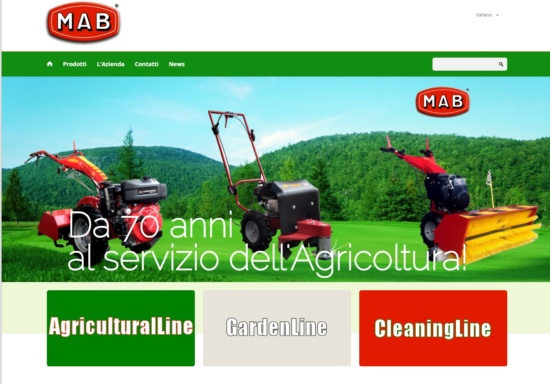 Nuovo Sito Mab by AGRINVEST BL