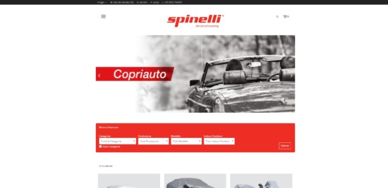 Nuovo Sito SpinelliShop.it