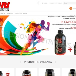 Nuovo E-Commerce Best Nutrition